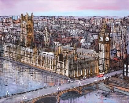 Late Afternoon Westminster by Paul Kenton, Landscape