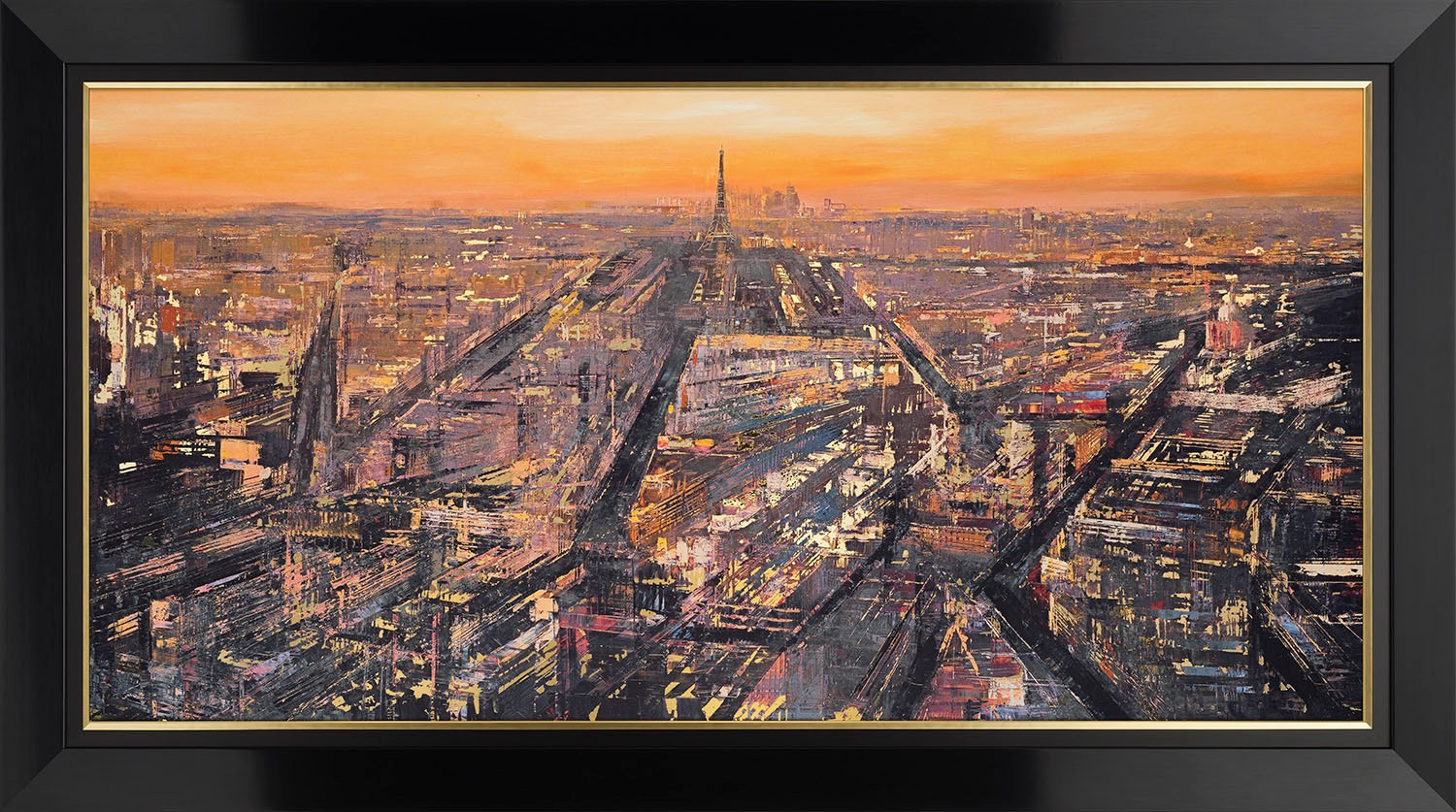 Parisian Metropolis by Paul Kenton, Paris | Abstract | Landscape