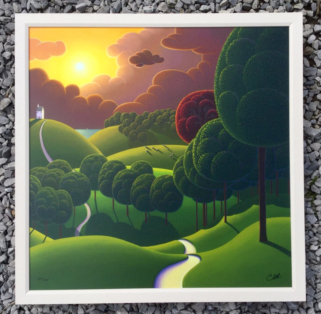 The Coastal Trail by Paul Corfield, Sea | Water | Landscape