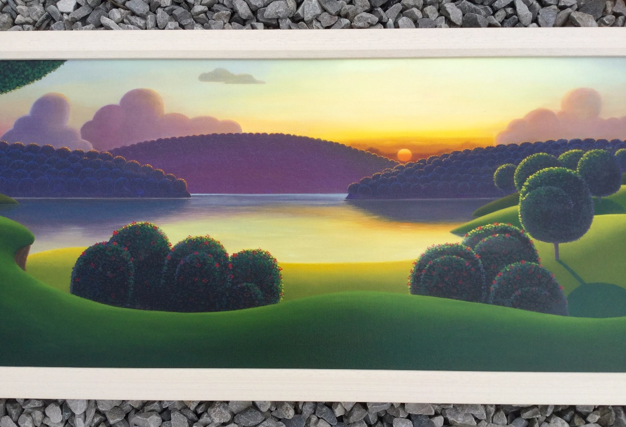 The Great Outdoors by Paul Corfield, Sea | Water | Landscape