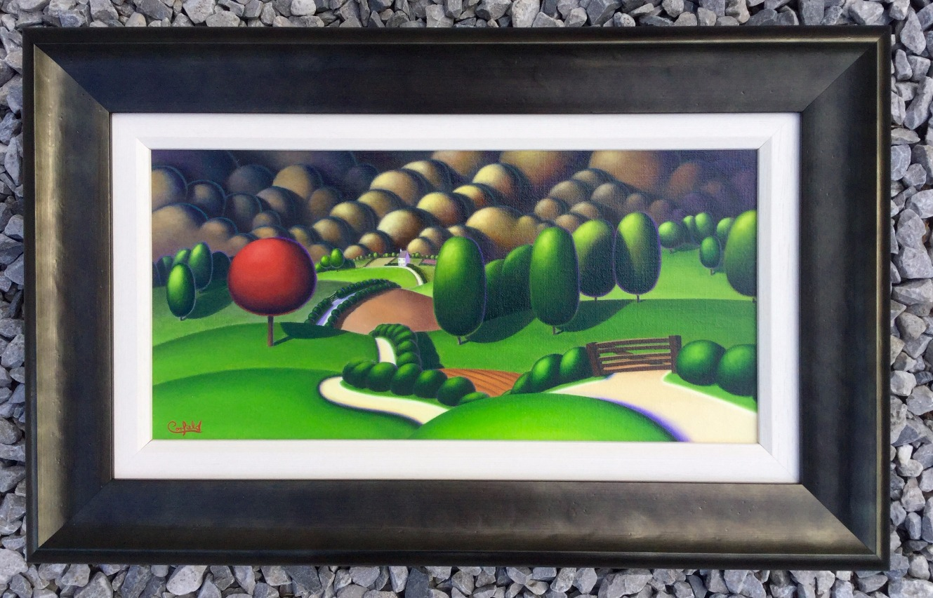 Untitled Study 156 by Paul Corfield, Abstract | Landscape