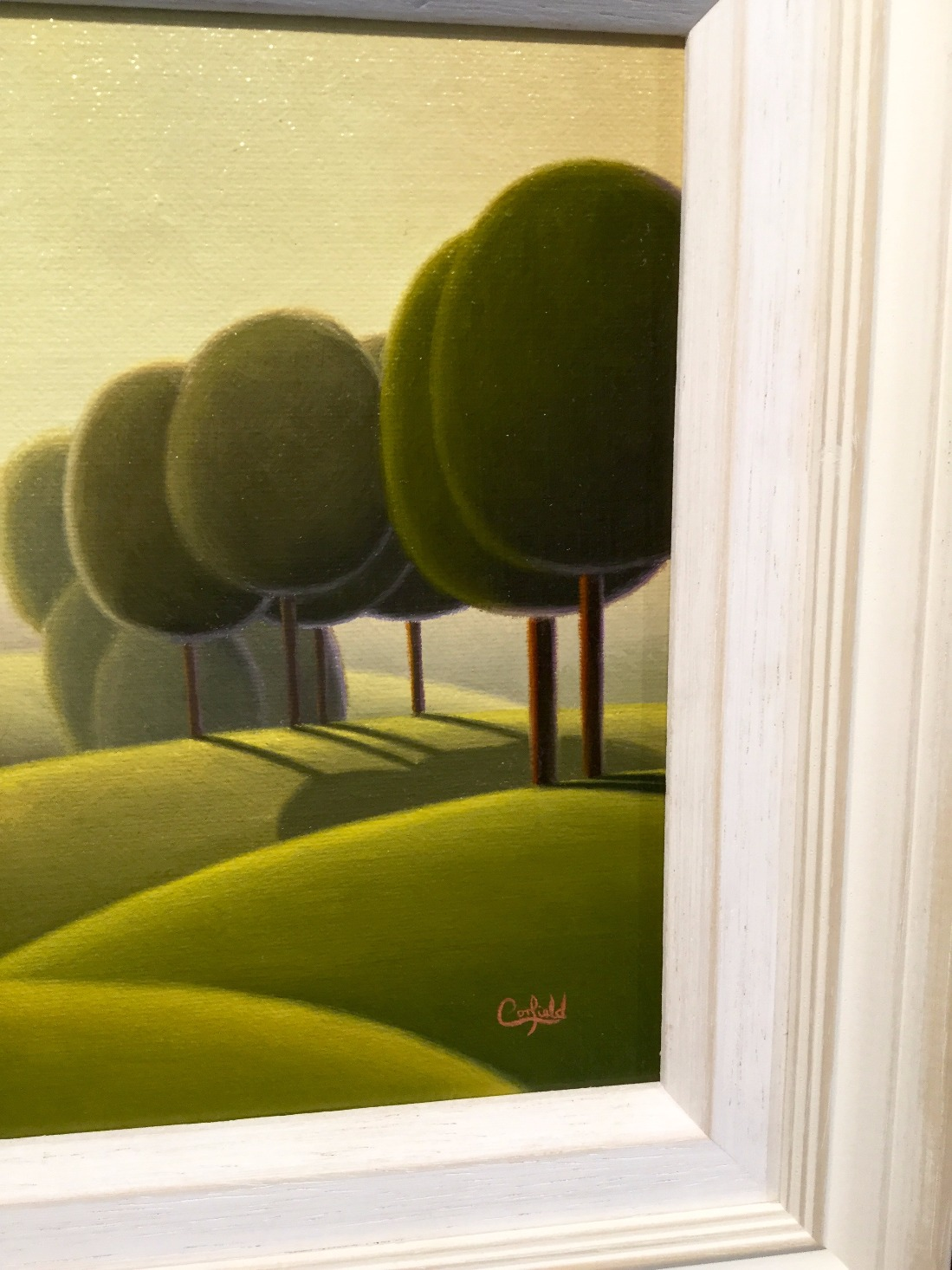 Untitled study 186 by Paul Corfield, Abstract | Landscape | Nostalgic