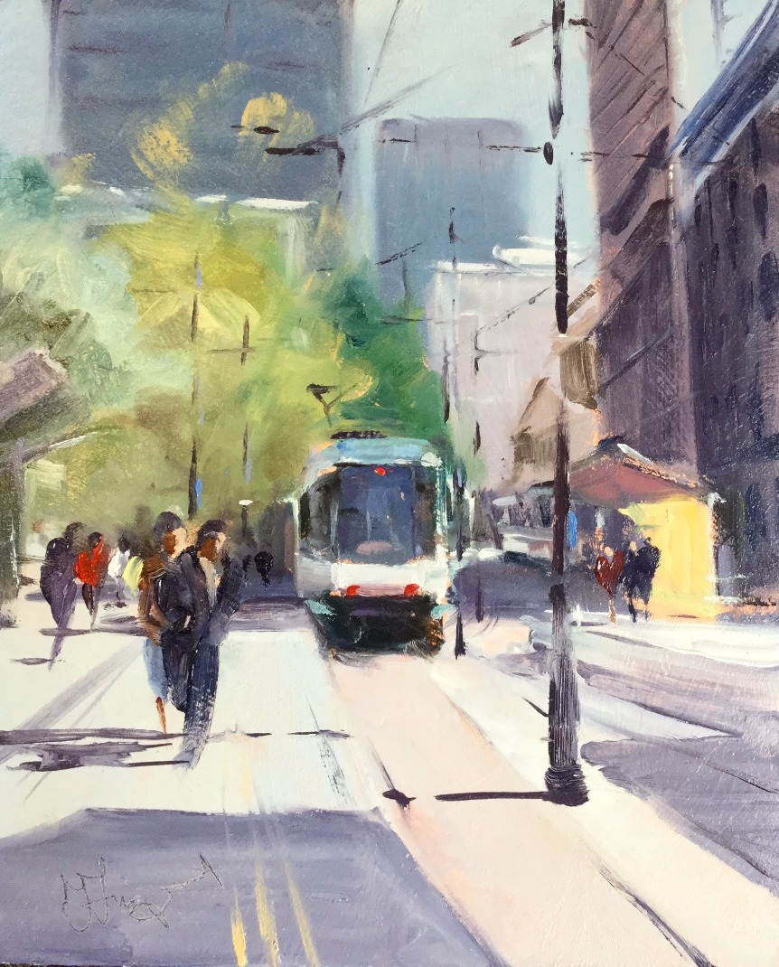 St Peter's Square (Manchester) by Trevor Lingard, Local | Manchester | Transport