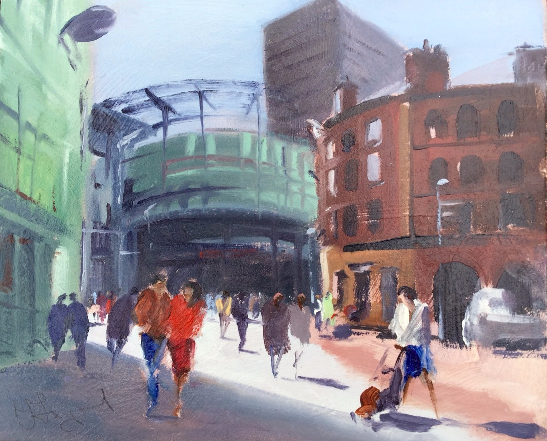 Urbis Triangle (Manchester) by Trevor Lingard, Manchester | Local