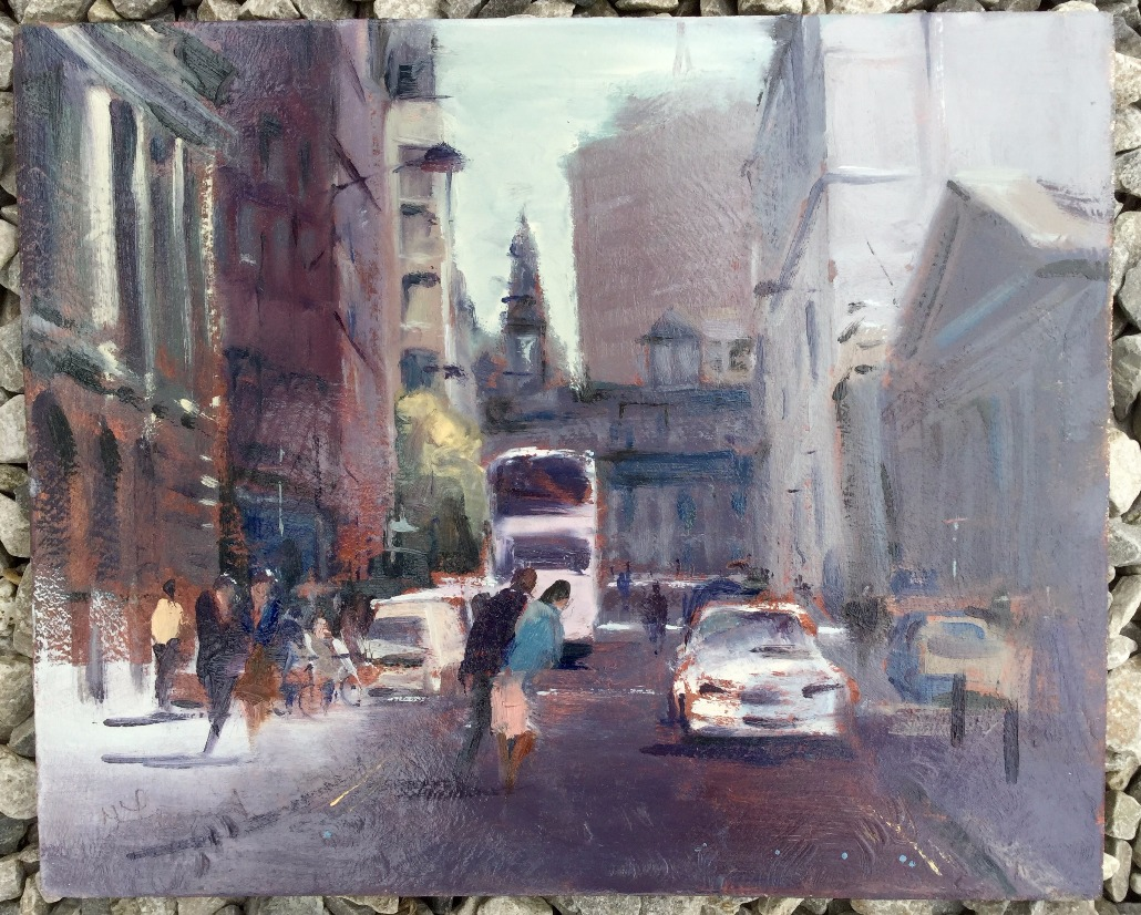 King Street (Manchester) by Trevor Lingard, Local | Manchester | Transport