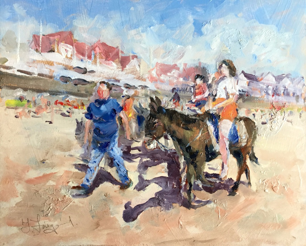 Sand, Sea & Donkey Rides by Trevor Lingard, Children | Sea | Family