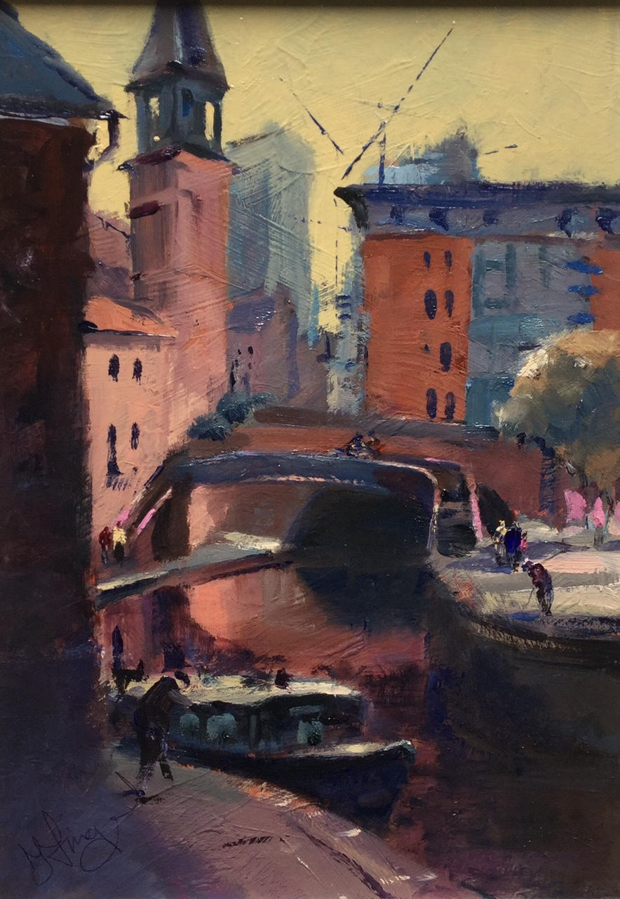 Castlefield by Trevor Lingard, Northern | Water | Manchester | Local
