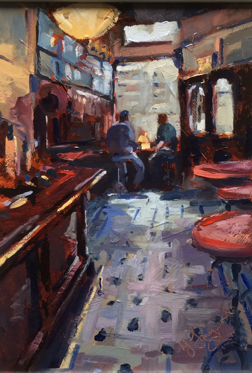 Sharing a Pint by Trevor Lingard, Manchester | Pub | Local