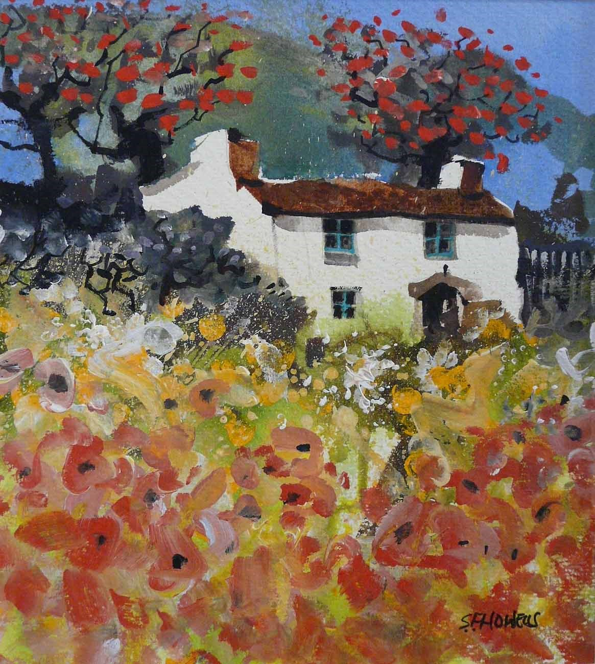 Lazy Days by Sue Howells, Flowers | Landscape