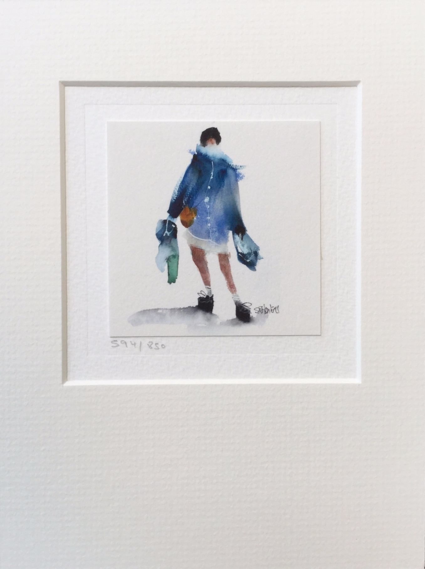 Limited Edition Card (AC59) by Sue Howells, Cards | Figurative