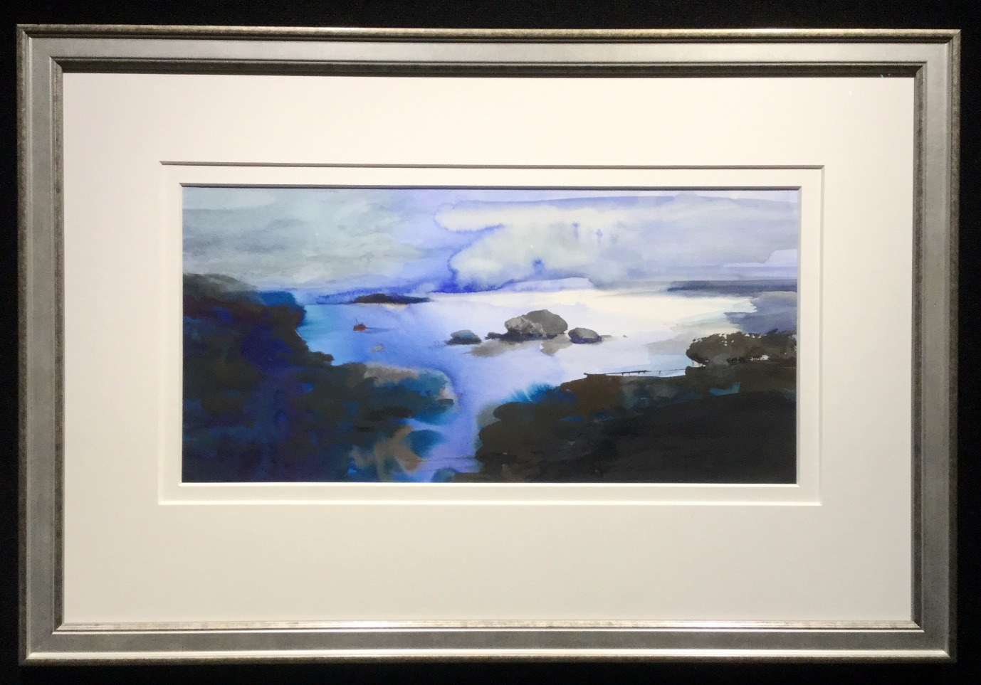 Homeward Bound by Sue Howells, Landscape | Sea | Water