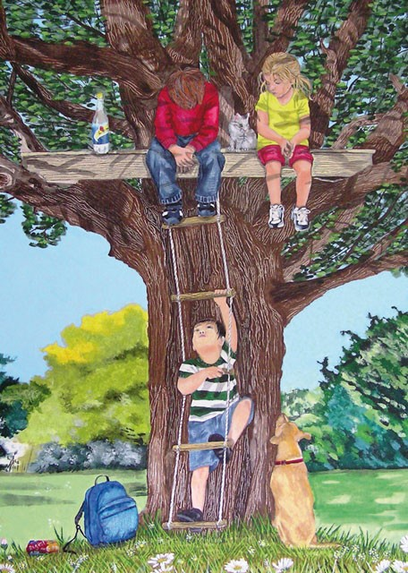 The Rope Ladder by Tracey Kemp, Cards