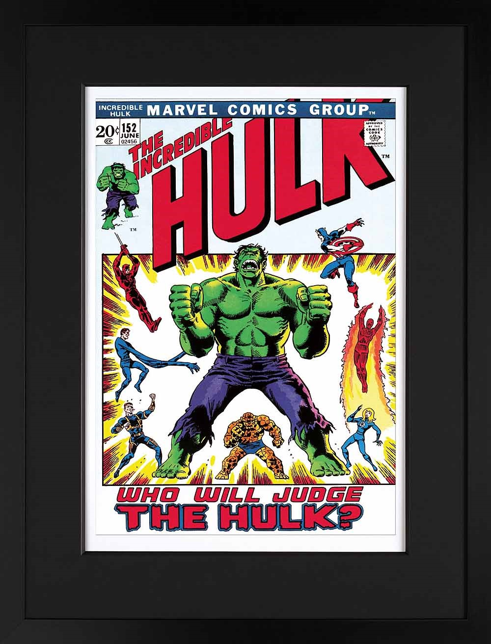 Who Will Judge the Hulk? by Marvel Comics - Stan Lee, Comic | Marvel