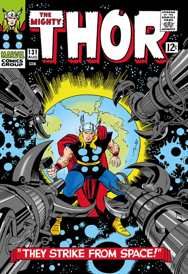 The Mighty Thor #131 - They Strike from Space! by Marvel Comics - Stan Lee, Comic | Nostalgic | Film | Marvel