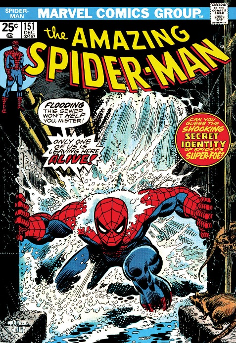 The Amazing Spiderman #151 Only One Of Us Is Leaving Here Alive! by Marvel Comics - Stan Lee, Marvel | Nostalgic | Film | Comic | Rare