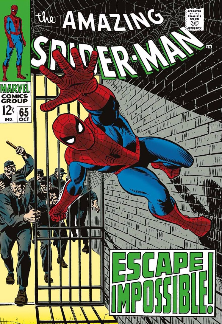 The Amazing Spider-Man #65 - Escape Impossible! by Marvel Comics - Stan Lee, Comic | Film | Marvel | Nostalgic