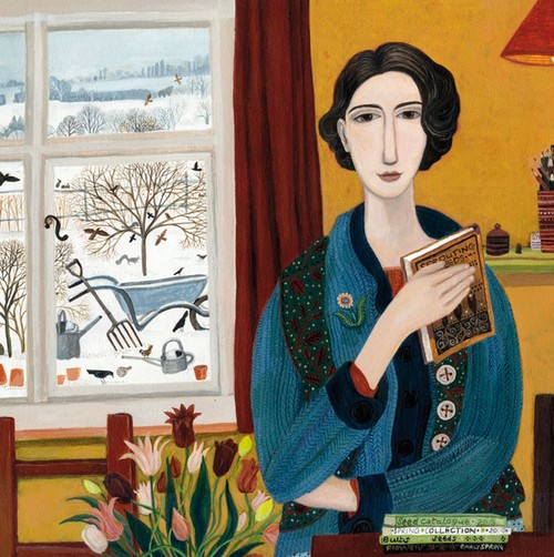 Thinking Ahead by Dee Nickerson, Cards