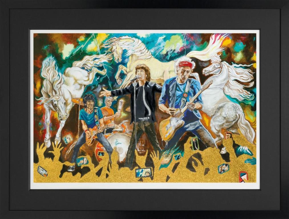 Electric Horses by Ronnie Wood, Pop | Music | Figurative