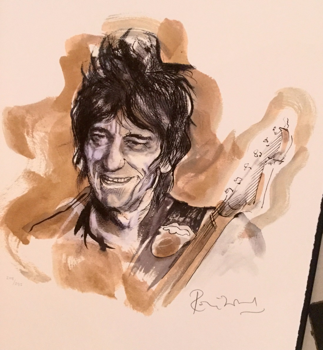 Drawn to Life Portfolio by Ronnie Wood, Pop