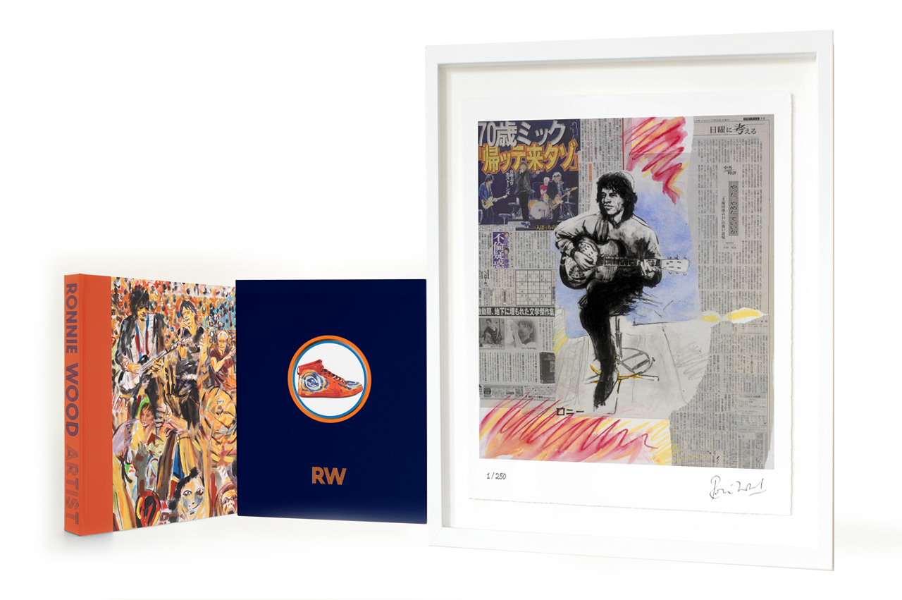 Self Protrait II (Mick) by Ronnie Wood, Music | Pop | Book