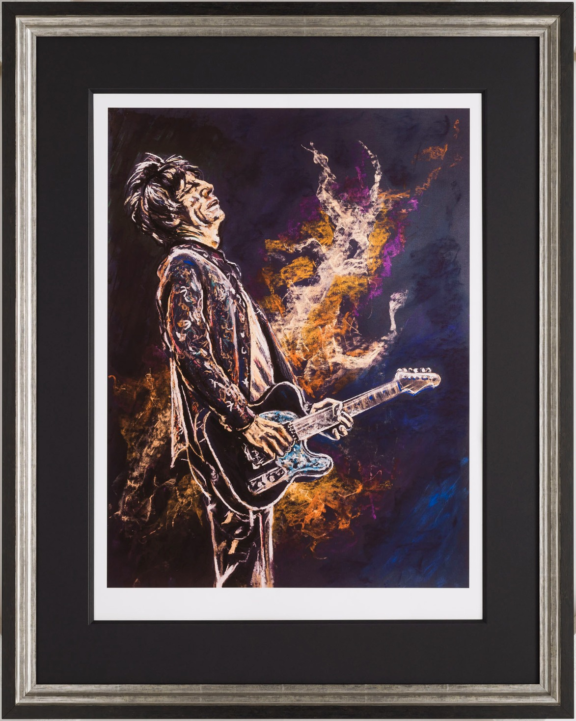 Self Portrait II (Keith) by Ronnie Wood, Book | Pop | Music