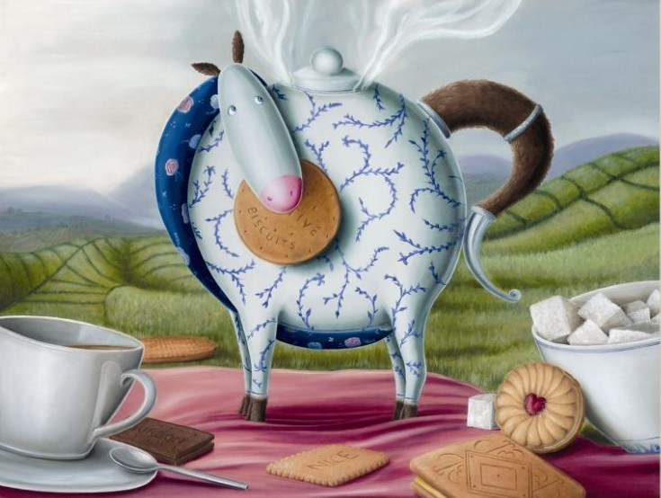 High Tea Hee-Haw by Peter Smith, Humour