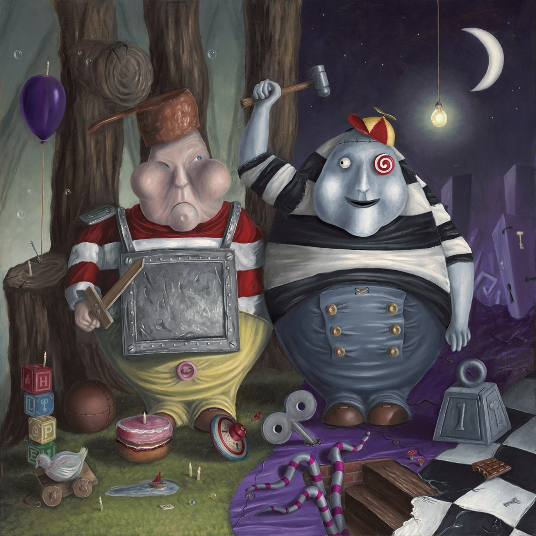 Tweedle do and Doodle Don't by Peter Smith, Figurative | Film