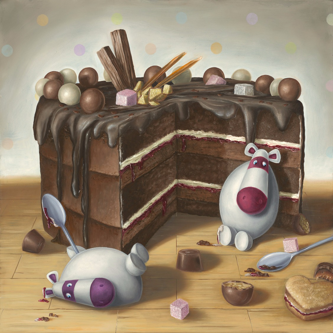 Let Them Eat Cake by Peter Smith, Family