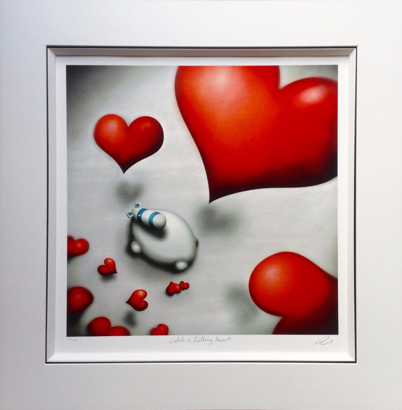 Catch a Falling Heart by Peter Smith, Love | Couple | Romance | Customer Sale