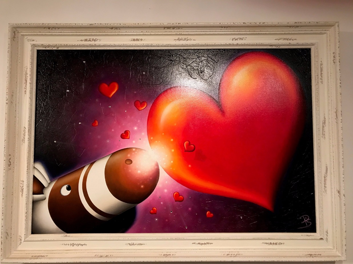 And my Heart went Boom! by Peter Smith, Love | Customer Sale