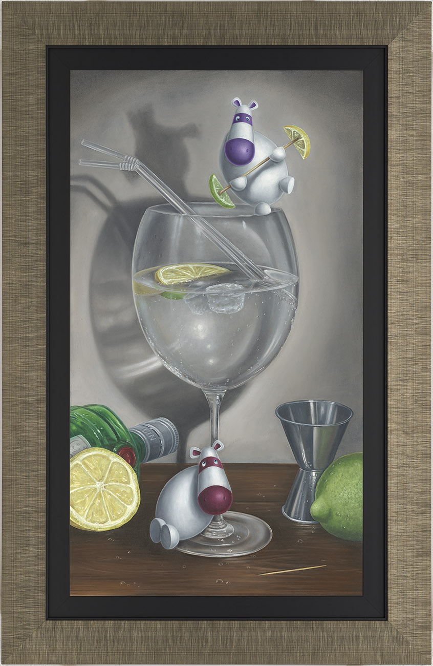 Feeling Gintastic by Peter Smith, Rare | Humour | Couple | Love