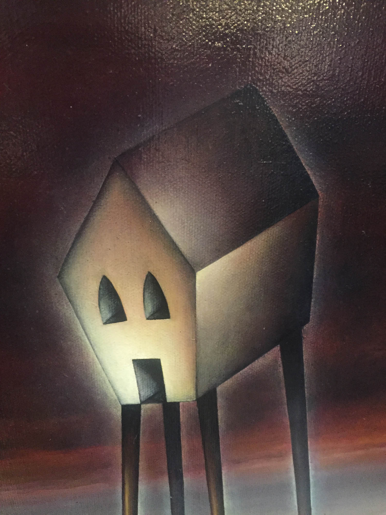 Home is more than a House by Peter Smith, Landscape | Love | Romance