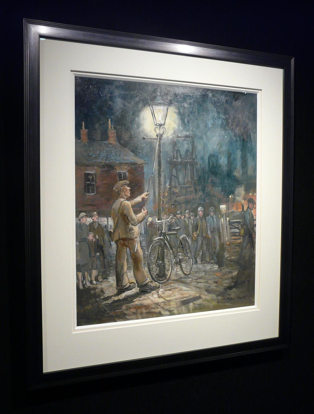 Lamplighter Mining Town by Peter Knox, Nostalgic | Northern | Figurative